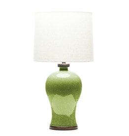 Lawrence & Scott Dashiell Table Lamp in Celadon Crackle (Walnut)