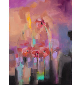 Amber Favre Art Poppies Abstract