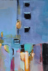 Amber Favre Art City View Abstract