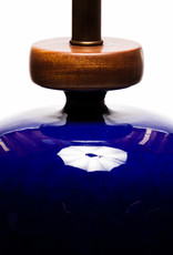 Lawrence & Scott Anita Porcelain Table Lamp (Indigo Blue)