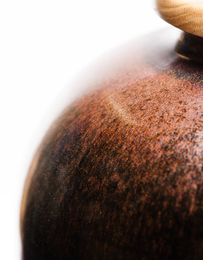 Lawrence & Scott Luca Porcelain Table Lamp in Flash Glaze