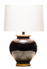 Lawrence & Scott Luca Porcelain Table Lamp in Flash Glaze