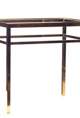 Lawrence & Scott Brass Stand for Leather Boxes (L-11 series)