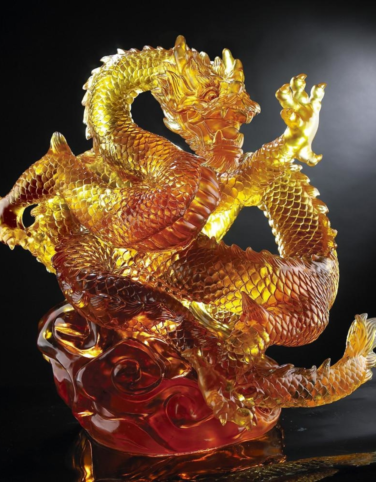 LIULI Crystal Art Crystal Dragon (Limited Edition)