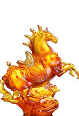 LIULI Crystal Art Crystal Celebratory Horse (Limited Edition)