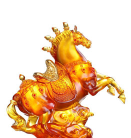 LIULI Crystal Art Crystal Celebratory Horse (Limited Edition)