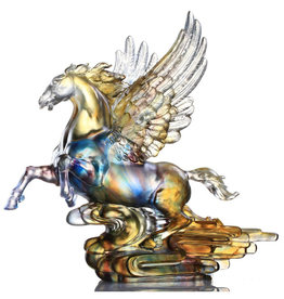 LIULI Crystal Art Crystal Pegasus (Limited Edition)