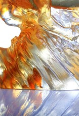 LIULI Crystal Art Crystal Horse Sculpture (Limited Edition) in Amber