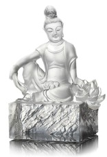 LIULI Crystal Art Crystal Guanyin (Limited Edition)