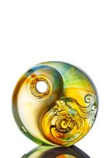 LIULI Crystal Art Crystal Yin Yang Paperweight