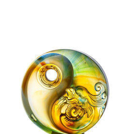 LIULI Crystal Art Crystal Yin Yang Paperweight (Limited Edition)