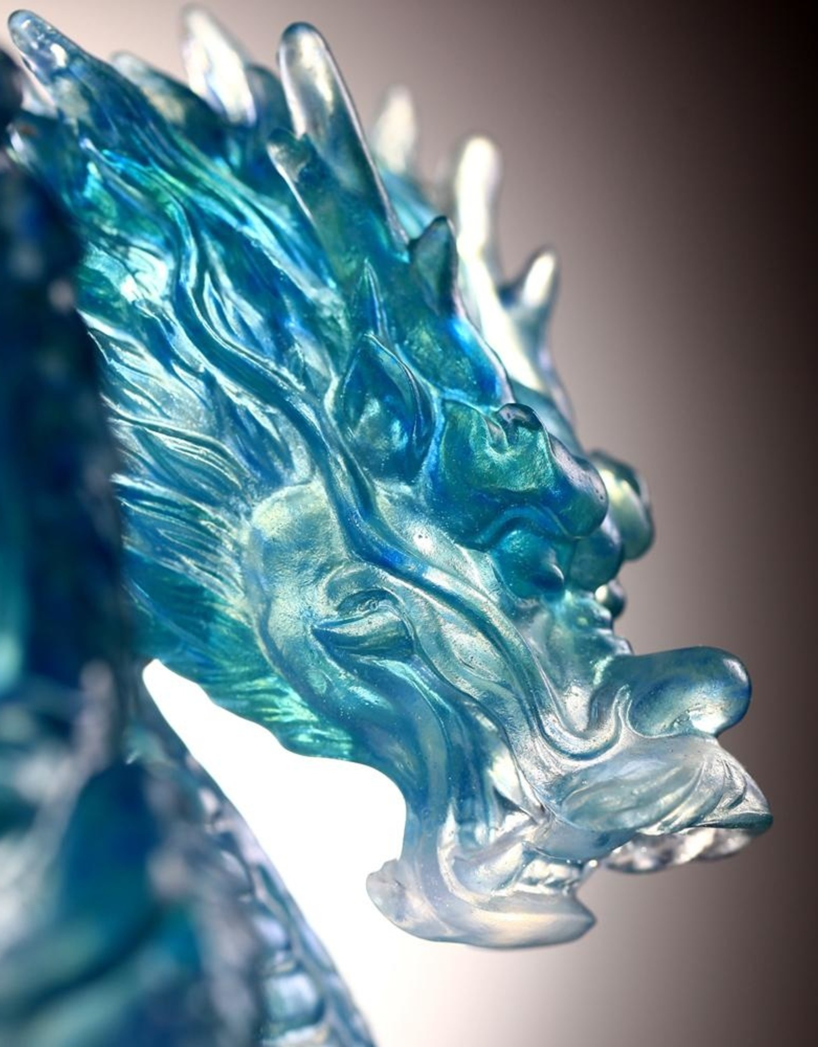 LIULI Crystal Art Crystal Art Mythical Dragon (Limited Edition)
