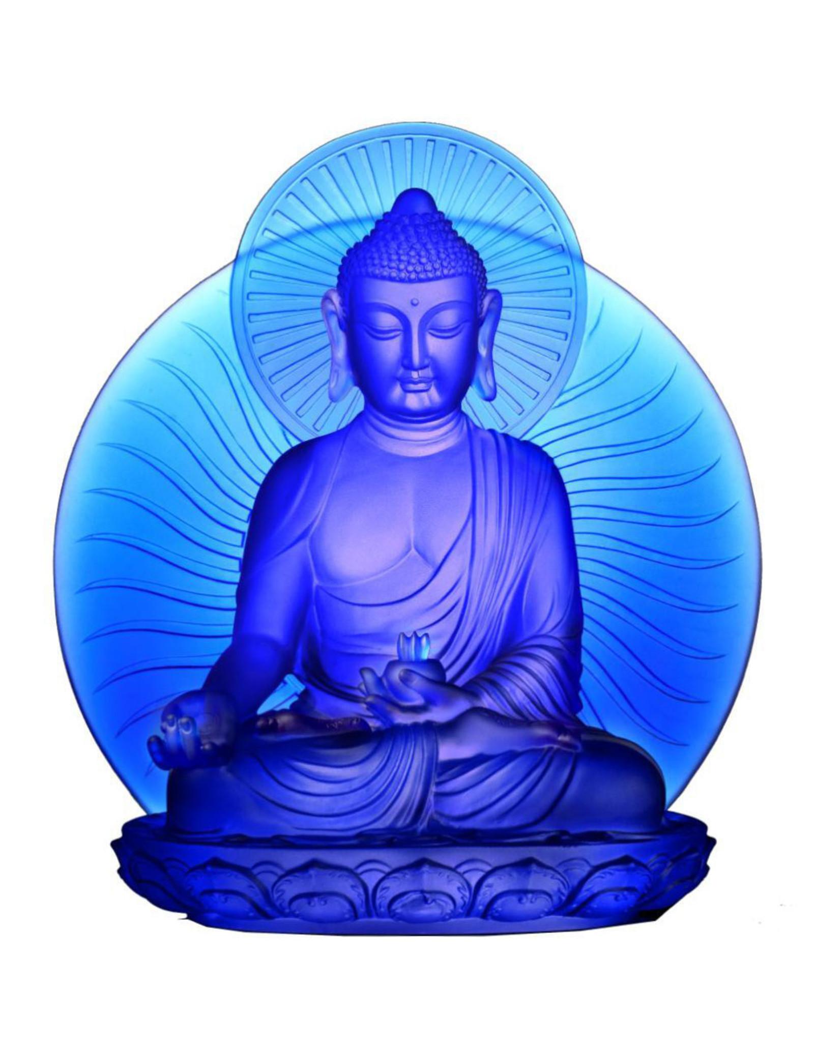 LIULI Crystal Art Crystal Medicine Buddha