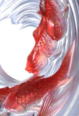 LIULI Crystal Art Crystal Koi (Limited Edition)
