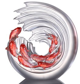 LIULI Crystal Art Crystal Koi (Limited Edition)