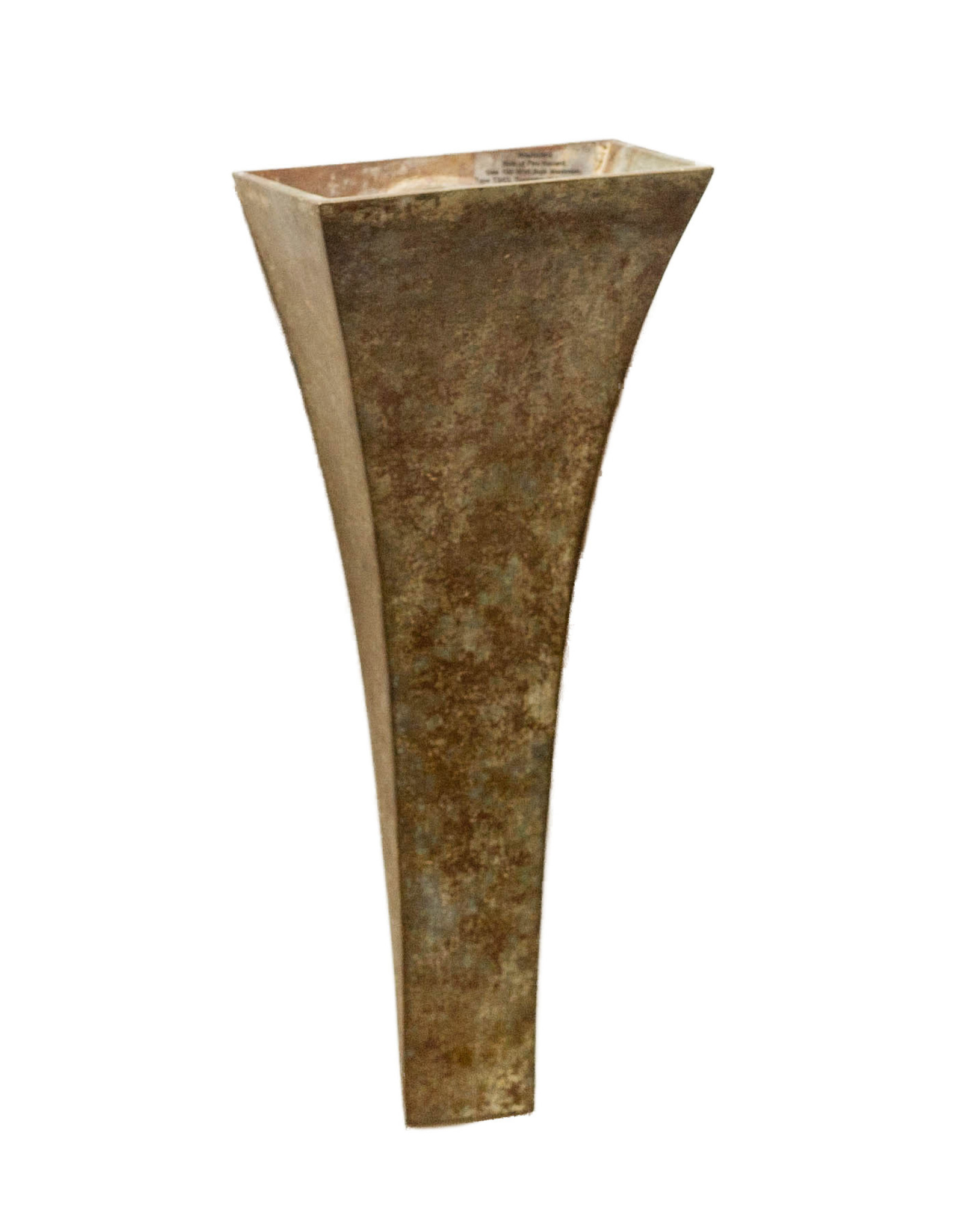 Lawrence & Scott Hizashi Verdigris Bronze Wall Sconce