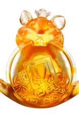 "LIULI Crystal Art Crystal Mouse ""Unshakable"" (Limited Edition) Zodiac Sculpture"