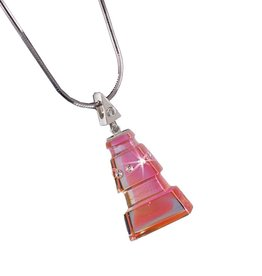 LIULI Crystal Art Crystal North Star Pendant Necklace
