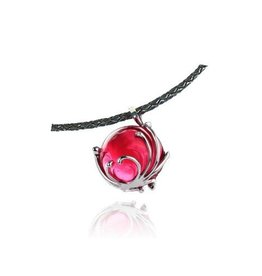 LIULI Crystal Art Crystal Love of My Life Pendant Necklace