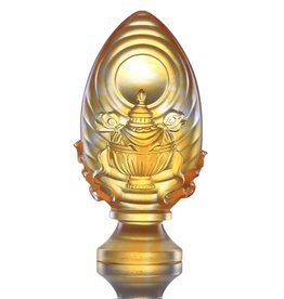 LIULI Crystal Art Crystal Feng Shui Vase of Treasures-Auspicious Wishes (Limited Edition)