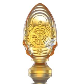 LIULI Crystal Art Crystal Feng Shui Dharma Wheel-Auspicious Fulfillment (Limited Edition)