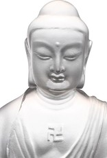 "LIULI Crystal Art Crystal ""Present Mindfulness"" Medicine Buddha, The Guardian of Peace, Powder White"