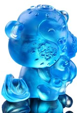 """LIULI Crystal Art Crystal Year of the Monkey """"Little Saint"""" Chinese Zodiac Figurine in Sky Blue (Limited Edition)"""