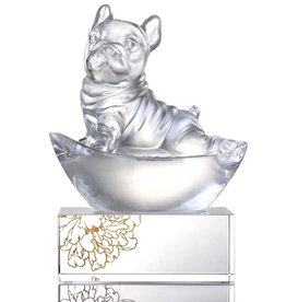 LIULI Crystal Art Crystal French Bulldog