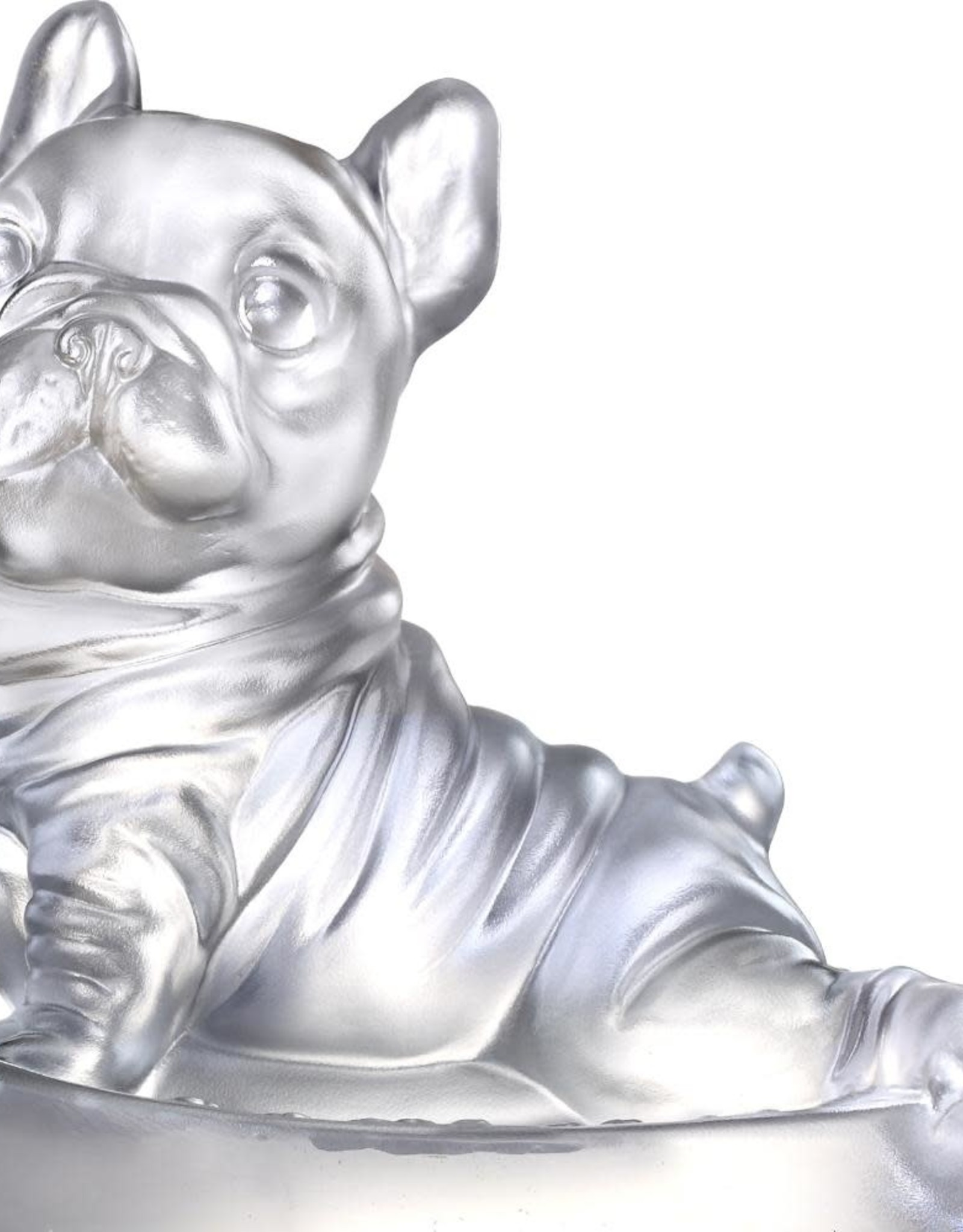LIULI Crystal Art Crystal French Bulldog