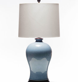 Lawrence & Scott Dashiell Table Lamp in Steel Blue