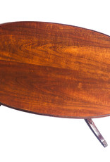 Antique - Lawrence Collection 1950s Mersman Solid Mahogany Antique Coffee Table