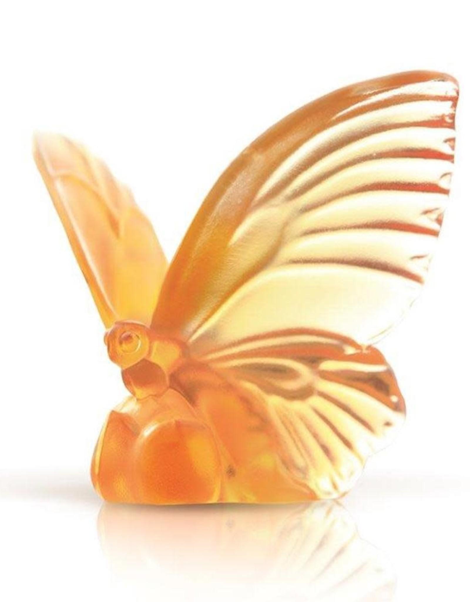 """LIULI Crystal Art Crystal Butterfly, """"Wings of Hope"""""""