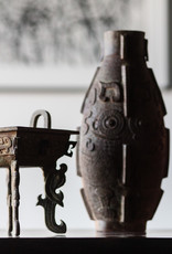 Lawrence & Scott Verdigris Bronze Incense Burner
