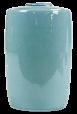 Lawrence & Scott Japanese Light Blue Kutani Celadon Glazed Vase
