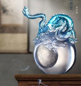 LIULI Crystal Art Crystal Art Mythical Dragon (Limited Edition)