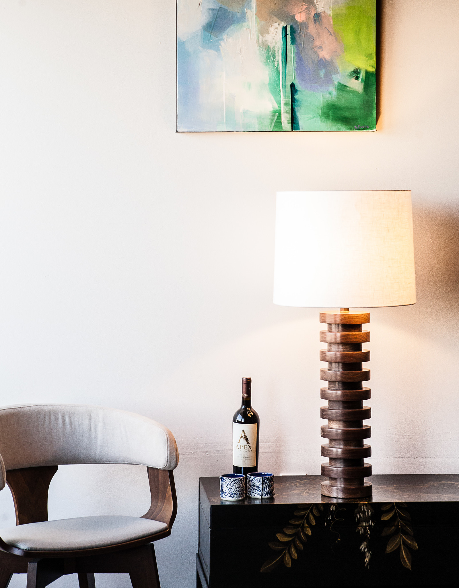 Lawrence & Scott by weve Malmo Table Lamp (Walnut)