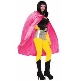 PINK SUPER HERO CAPE