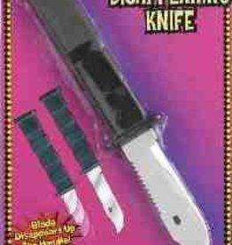 Forum Novelties DELUXE RETRACTABLE KNIFE (10 inches)