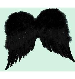 Forum Novelties SMALL BLACK ANGEL WINGS