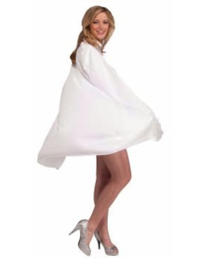 "Forum Novelties 45"" Cape - White"
