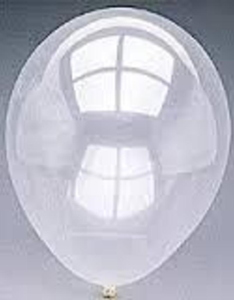 "Qualatex 16"" RND DIAMOND CLEAR 50CT"