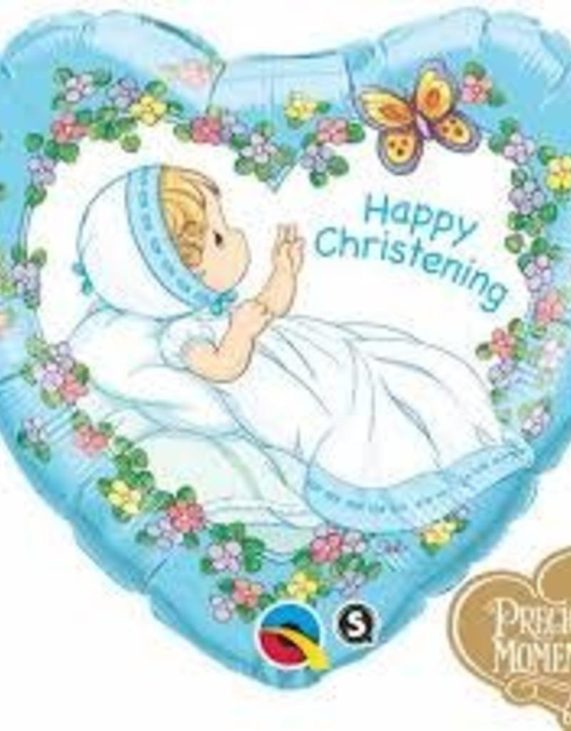 "Qualatex 18"" Precious Moments - Christening Boy"