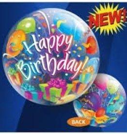 "Qualatex 22"" Bubble - Birthday Surprise"