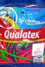 Qualatex 260Q Neon Ast 100ct