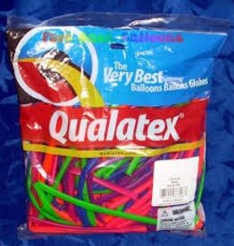 Qualatex 260Q NEON AST 100CT