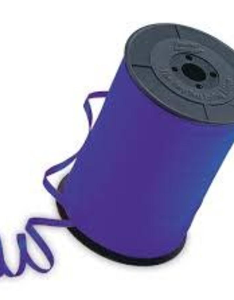 "Qualatex 3/16"" Purple Ribbon 500yds"