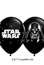 "Qualatex 11"" STAR WARS BLACK 25CT"