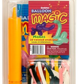 Qualatex BALLOON MAJIC set (pump,balloons,book)