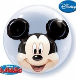 "Qualatex 24"" Mickey Mouse Double Bubble"