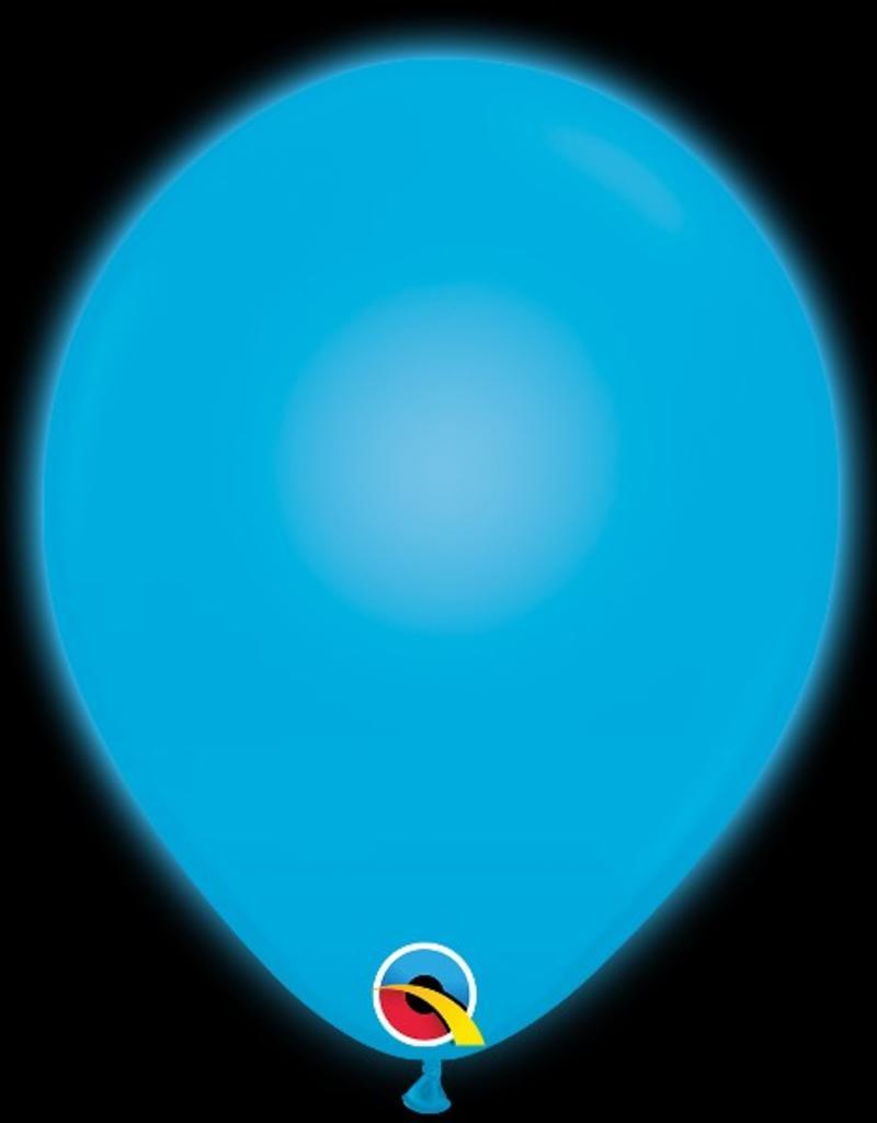 """Qualatex 11"""" LED Q-LITE BLUE 5 - PACK"""